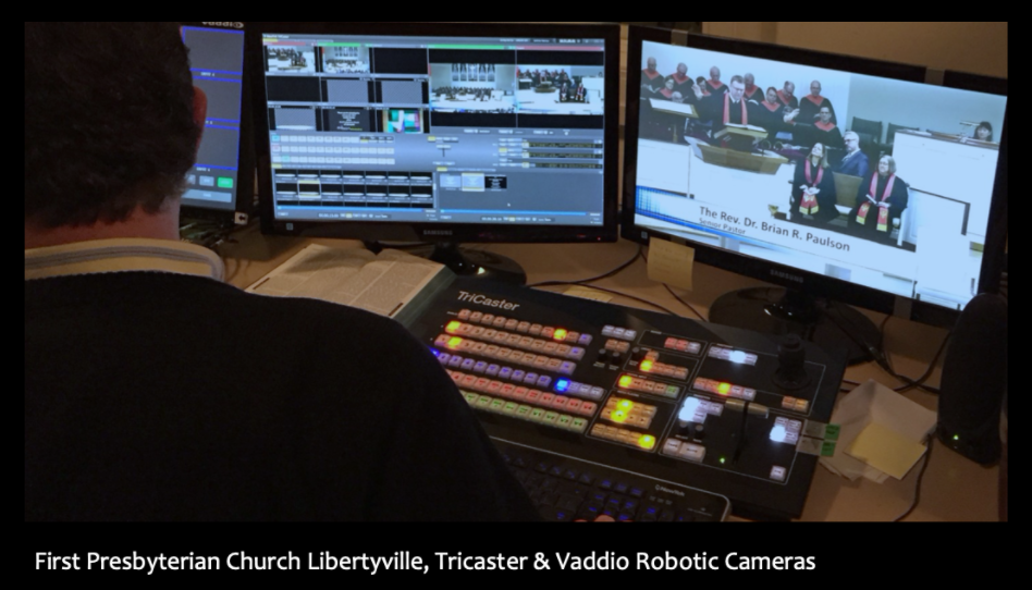 First Presbyterian Church Libertyville - Robotic Cameras of Service - Sound Planning